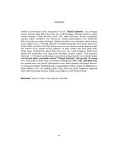 Analisis Wacana Kritis Buku Surat Dari Dan Untuk Pemimpin Skripsi Eprints Upn Veteran Yogyakarta
